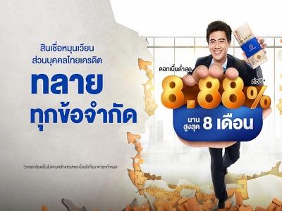 สินเชื่อหมุนเวียน ธนาคารไทยเครดิต